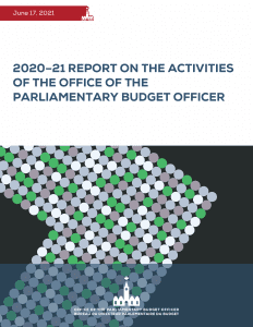 2020–21 Report on the Activities of the Office of the Parliamentary Budget Officer